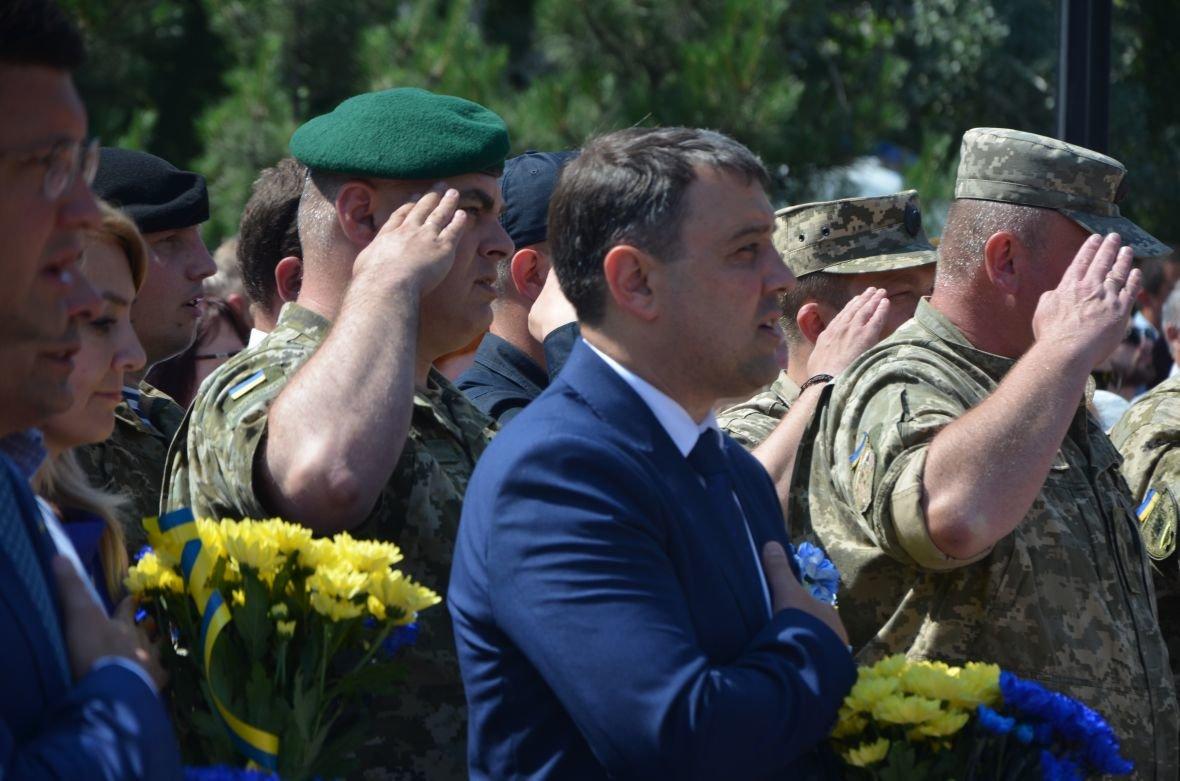 В Мариуполе День Конституции отметили скромным митингом (ФОТО+ВИДЕО), фото-7