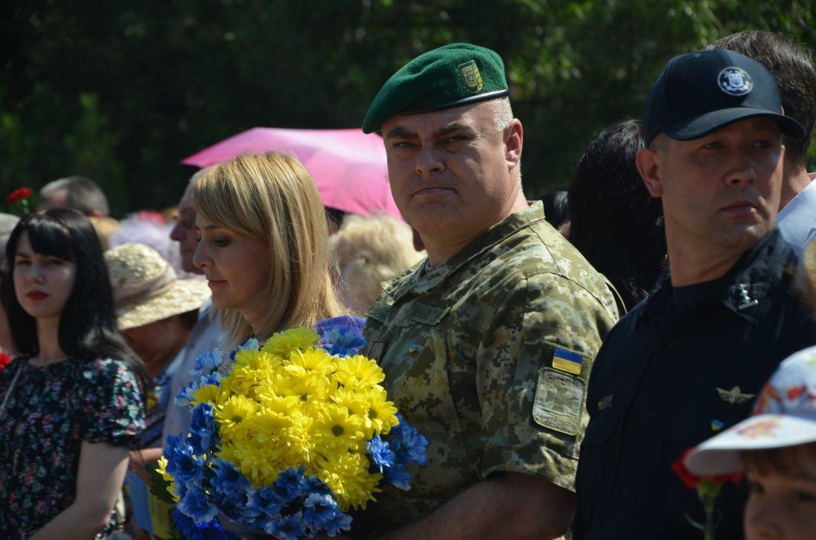 В Мариуполе День Конституции отметили скромным митингом (ФОТО+ВИДЕО), фото-2