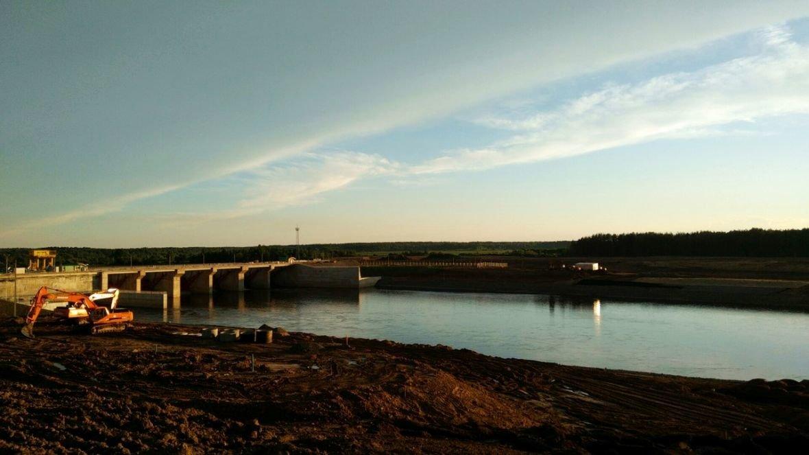 Полоцкую ГЭС запустят на днях, Витебскую – через месяц, фото-1