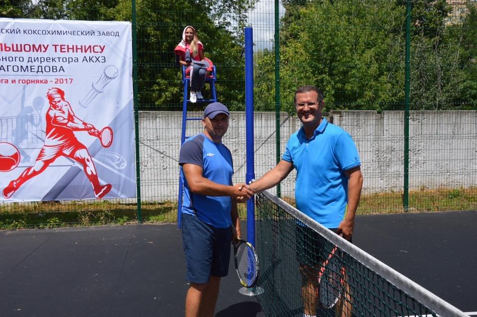Завершился первый день турнира по большому теннису на Кубок Мусы Магомедова (ФОТО), фото-7