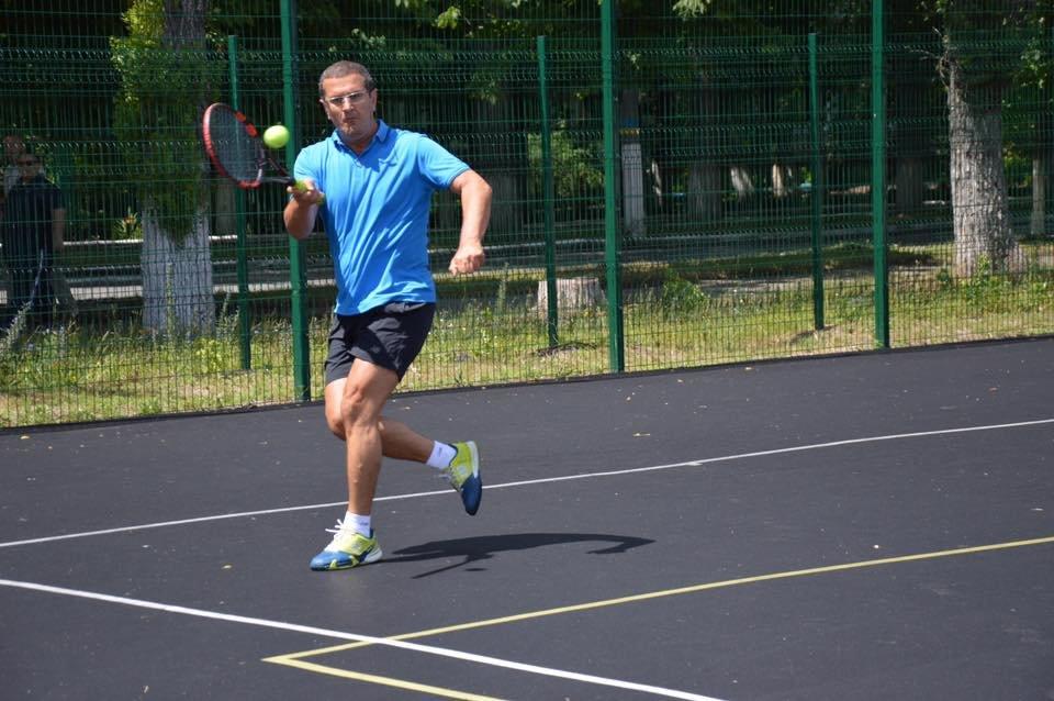 Завершился первый день турнира по большому теннису на Кубок Мусы Магомедова (ФОТО), фото-8