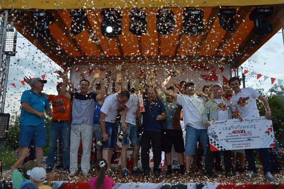 «На скорости»: спортивный праздник  завершили дождем из шампанского и золотым конфети (ФОТО), фото-5