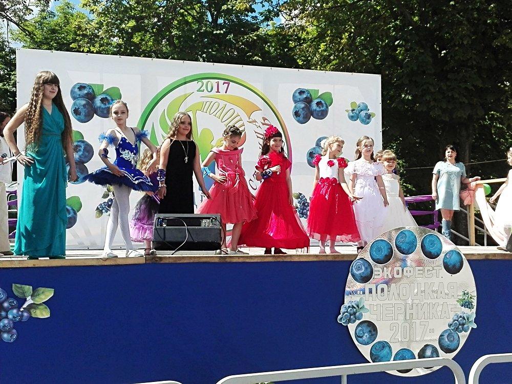 Мисс-черничка, спортивный open-air и дискотека: в Полоцке прошел экофестиваль «Полоцкая черника -2017», фото-3