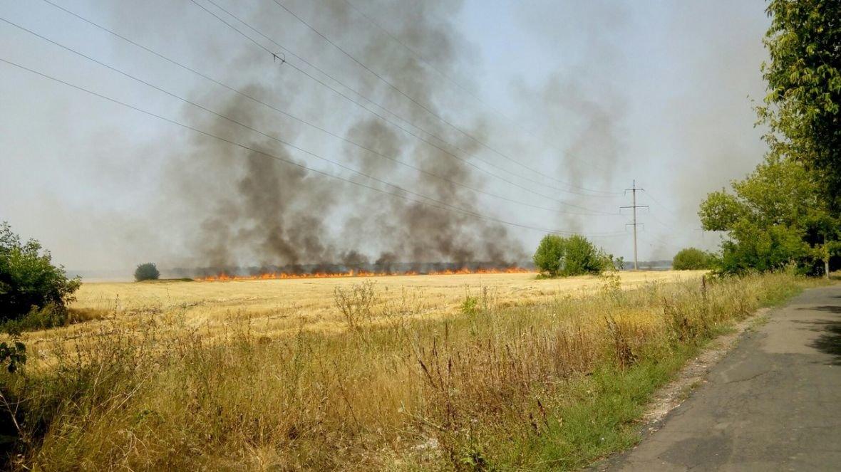 Авдеевка окутана облаком черного дыма (ФОТОФАКТ), фото-1
