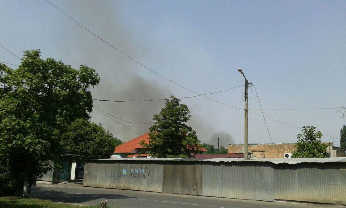 Авдеевка окутана облаком черного дыма (ФОТОФАКТ), фото-2
