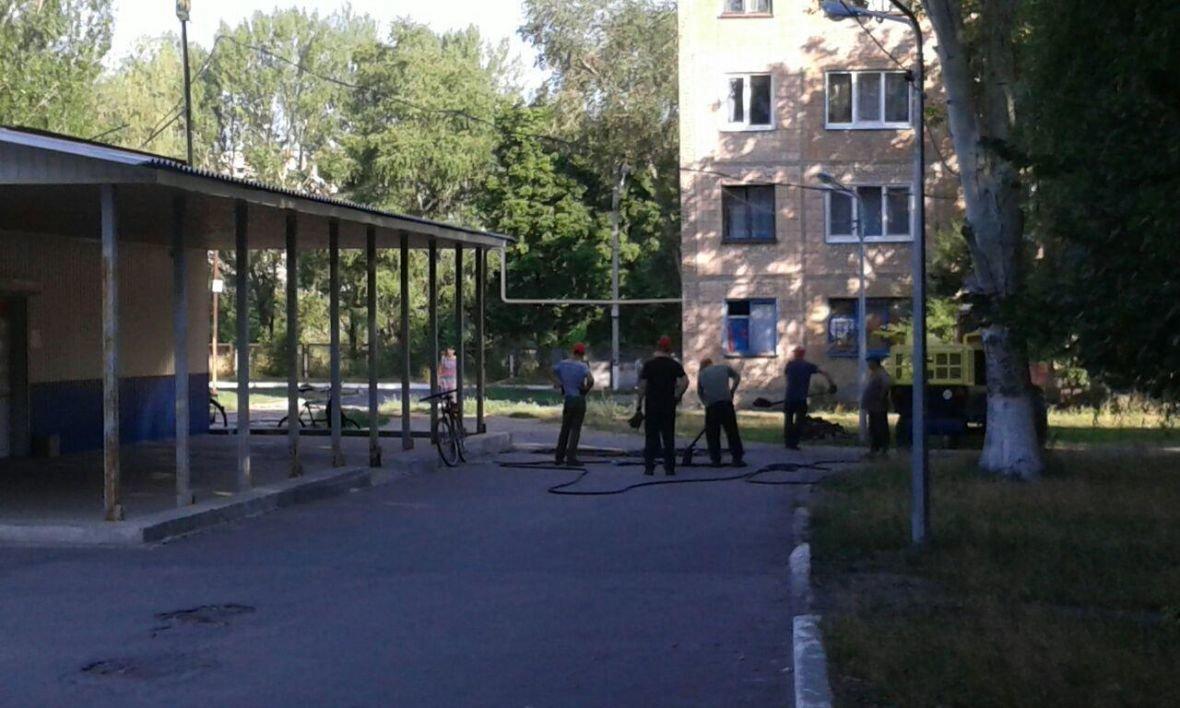 В Авдеевке подлатают улицу Коммунальную (ФОТОФАКТ), фото-1