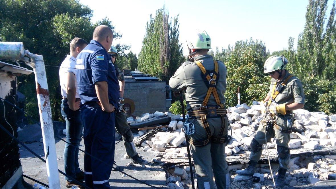 На Гагарина,1 кипит работа по расчистке завалов (ФОТОФАКТ), фото-1