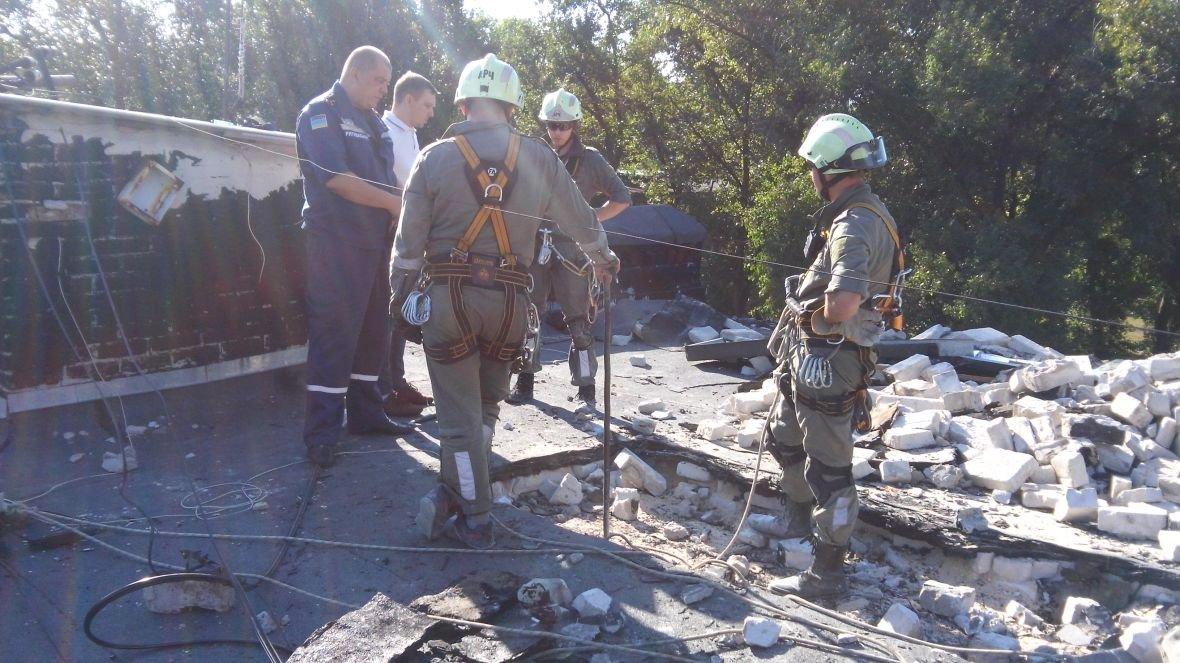 На Гагарина,1 кипит работа по расчистке завалов (ФОТОФАКТ), фото-4