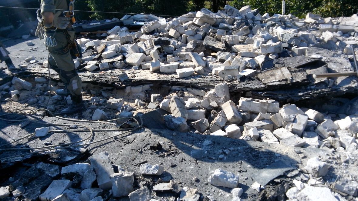 На Гагарина,1 кипит работа по расчистке завалов (ФОТОФАКТ), фото-2