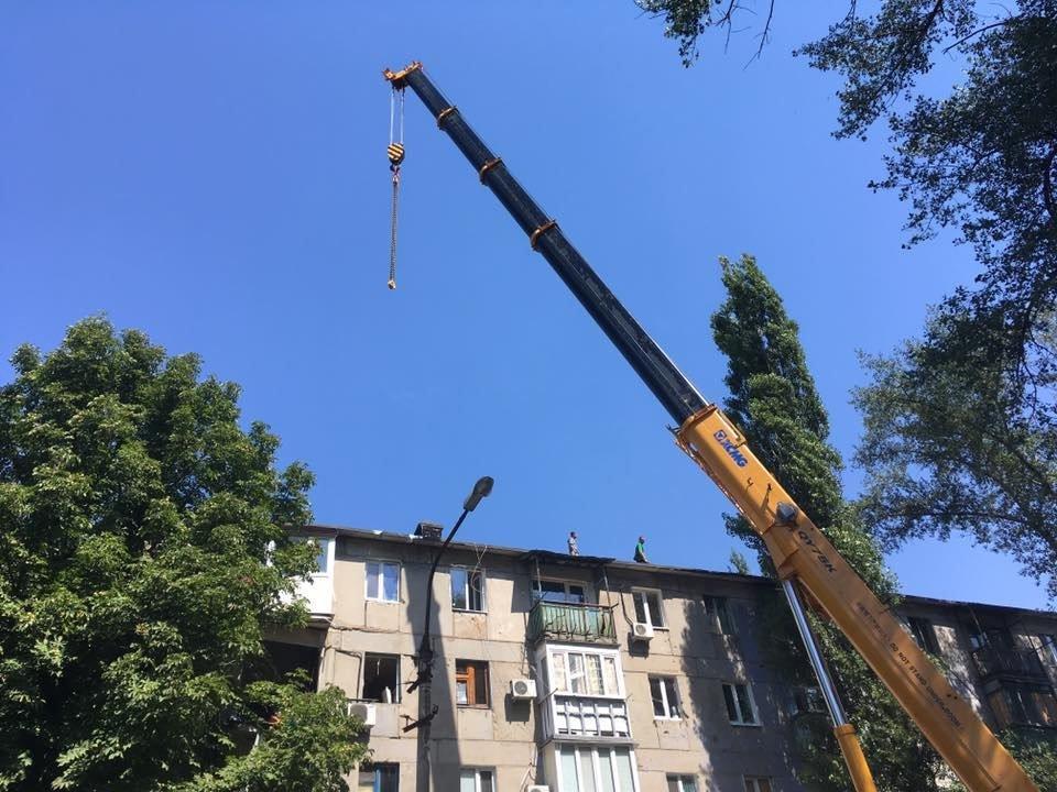 В Авдеевке приступили к демонтажу обрушившегося фасада многоэтажки(ФОТОФАКТ), фото-6
