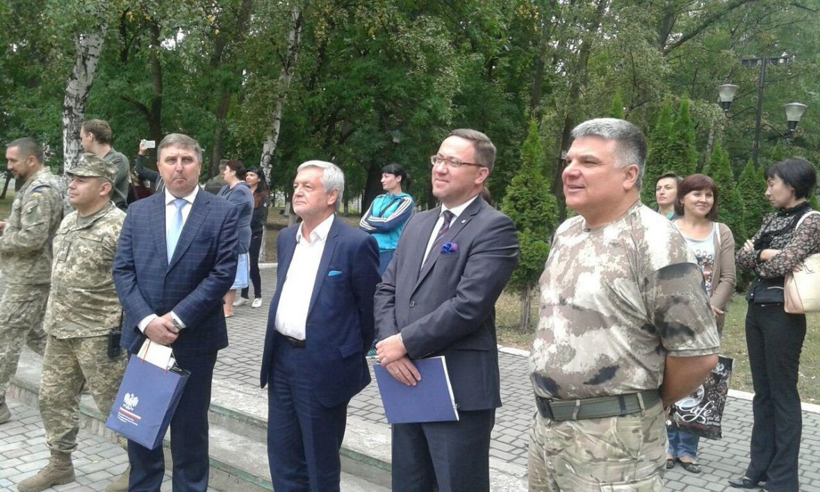 Авдеевку посетила делегация Министерства Иностранных Дел Польши (ФОТООТЧЕТ), фото-15