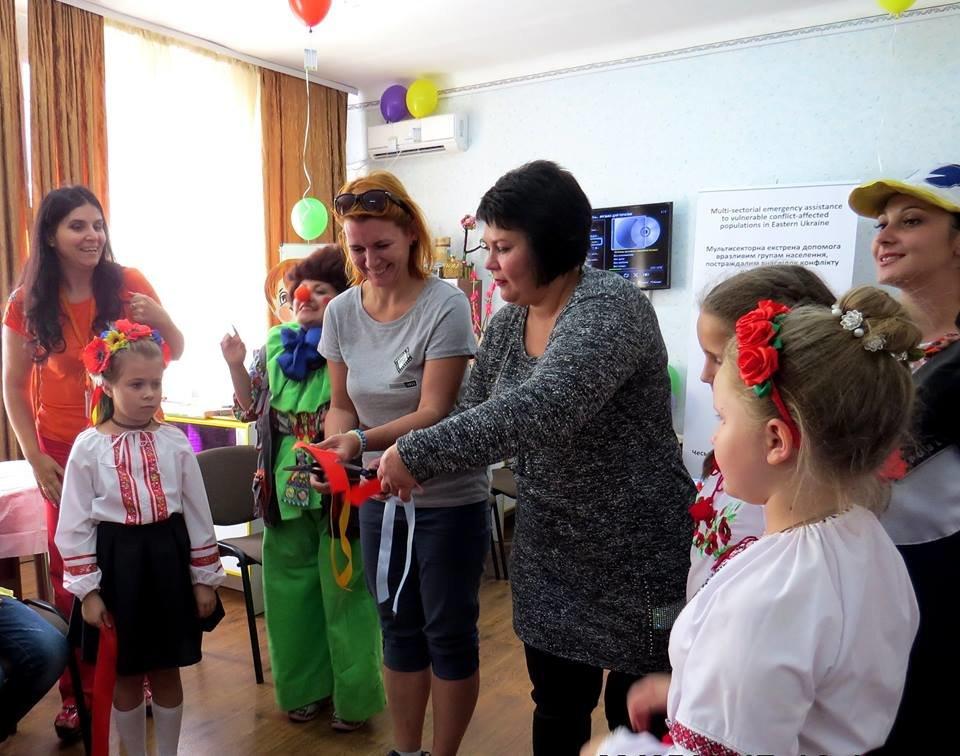 В Авдеевке презентовали новый центр для детей (ФОТО), фото-1