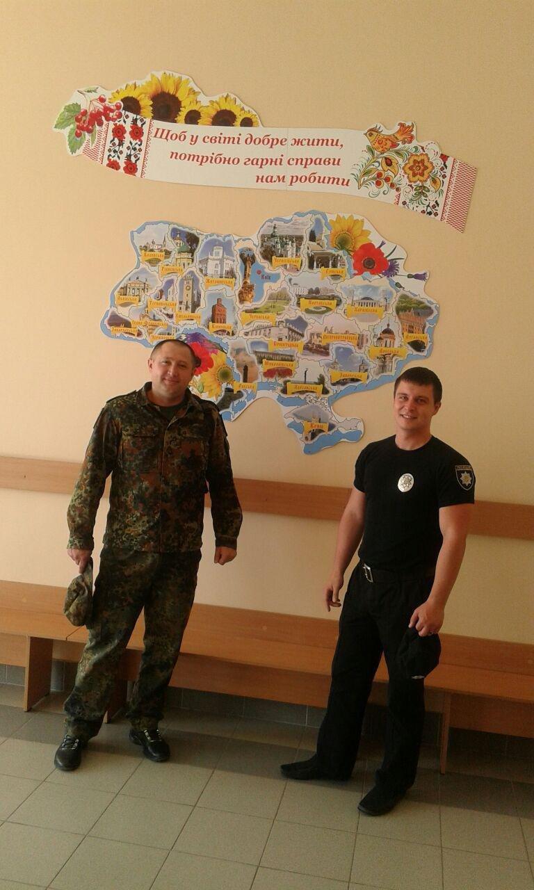 Авдеевка открыла сердца для полицейских с Хмельниччины (ФОТО), фото-4
