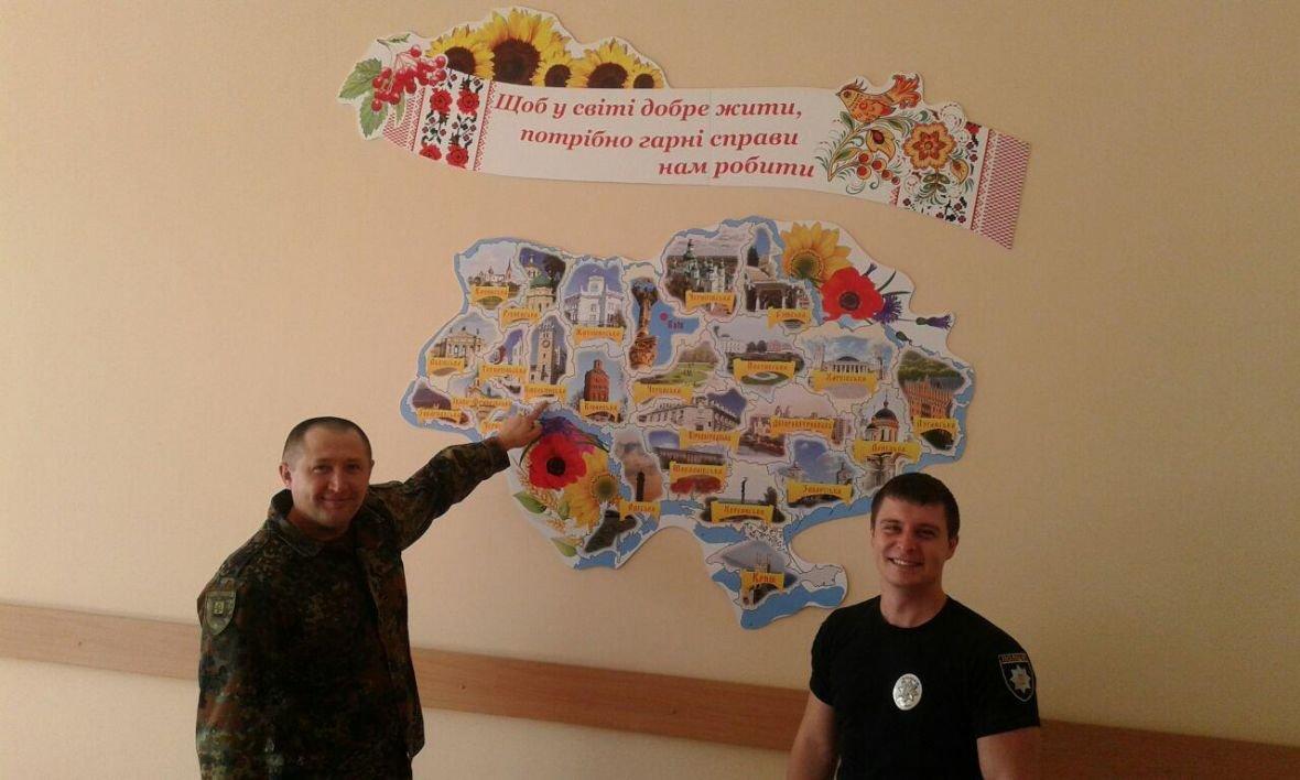 Авдеевка открыла сердца для полицейских с Хмельниччины (ФОТО), фото-5