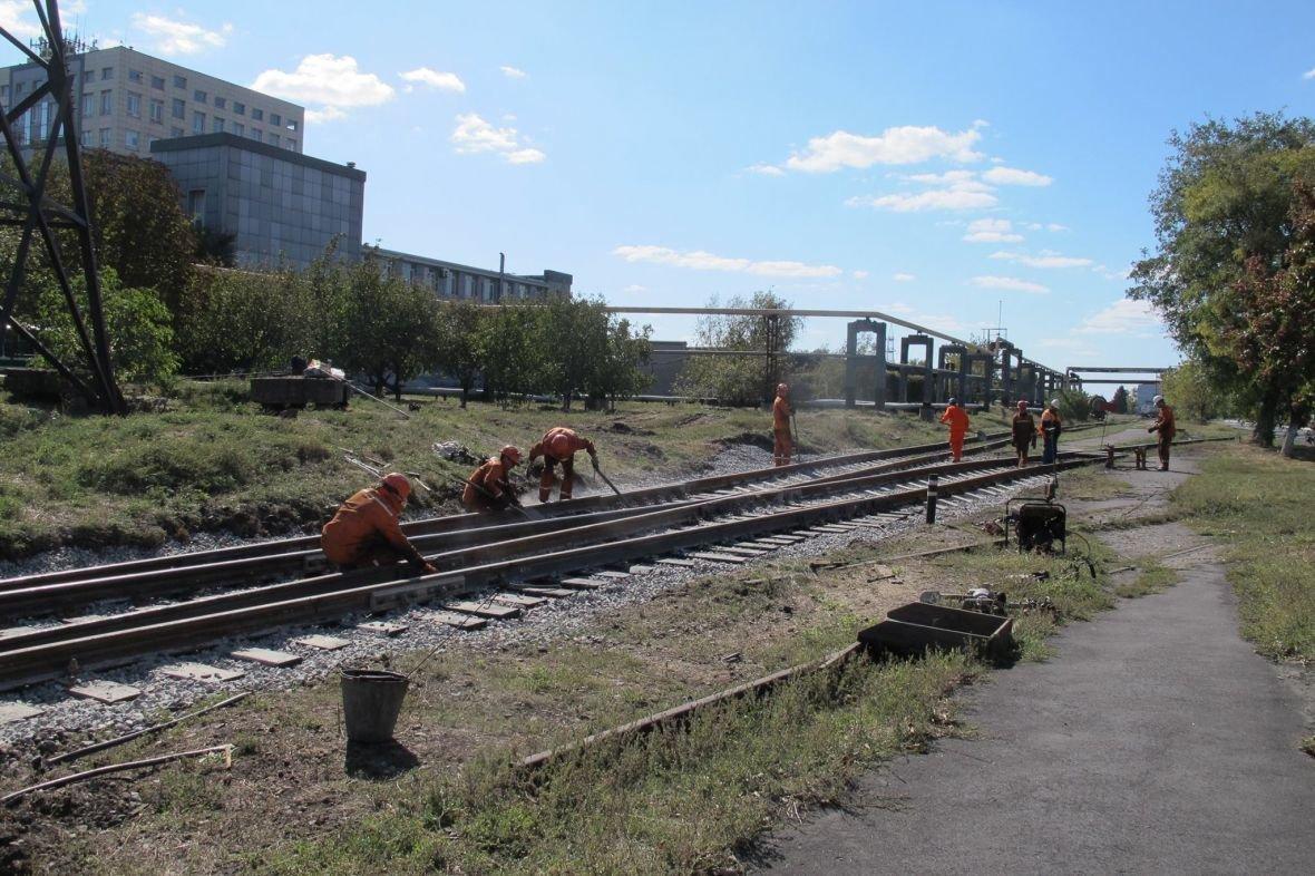 На АКХЗ ведут капремонт железнодорожного полотна (ФОТО), фото-1