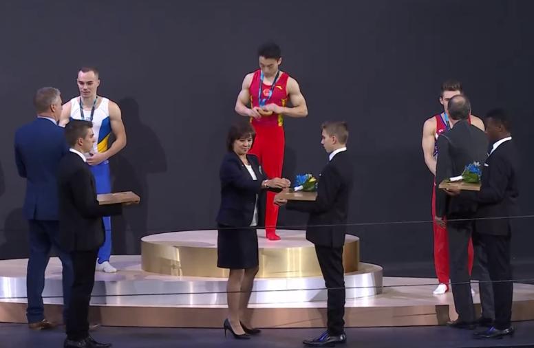 Украинские гимнасты стали серебряными призерами чемпионата мира в Канаде (ФОТО), фото-3