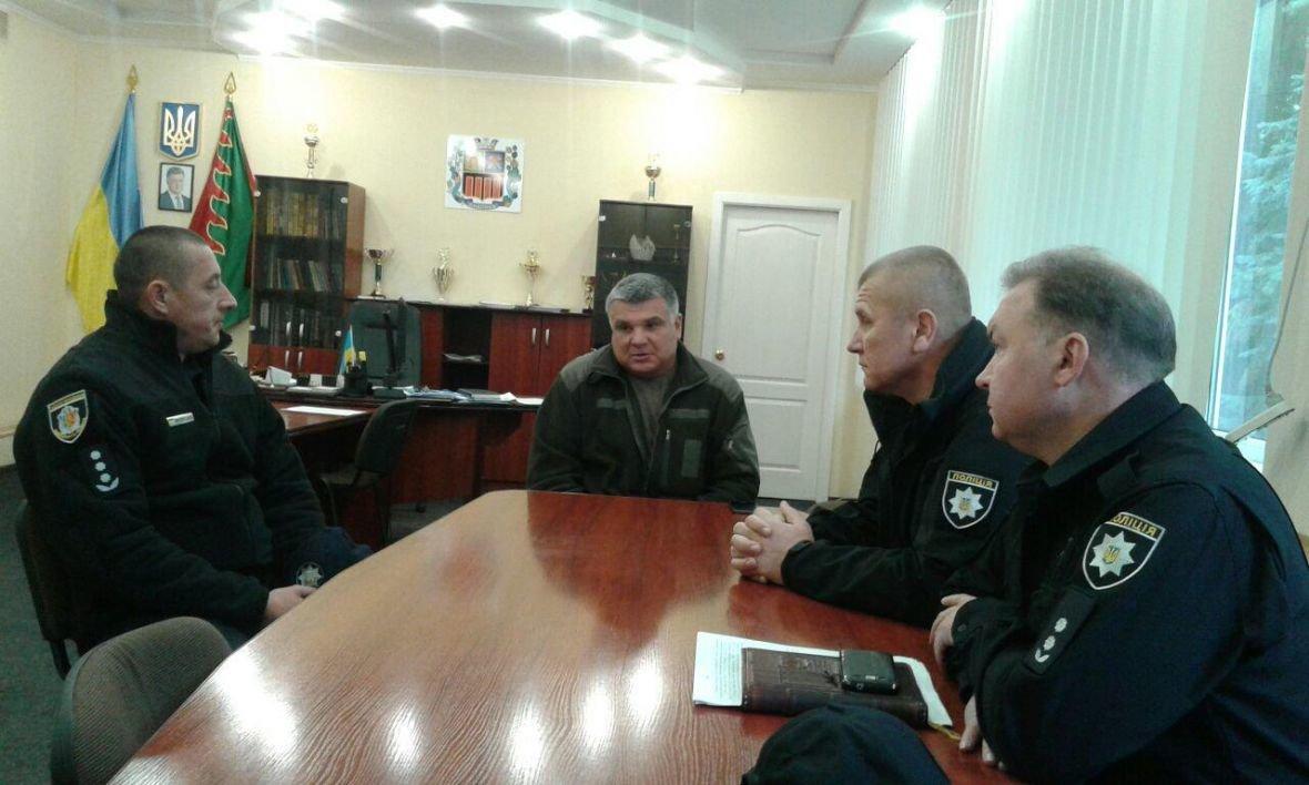 Авдеевку посетил глава Нацполиции Донецкой области (ФОТО), фото-3