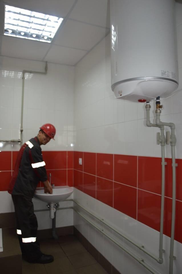 Метинвест направил 8 млн гривен на улучшение рабочего быта заводчан АКХЗ, фото-1