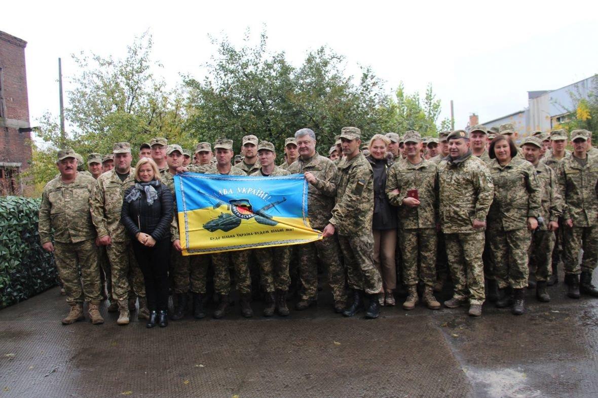 В Авдеевке Порошенко наградили медалью (ФОТО), фото-2