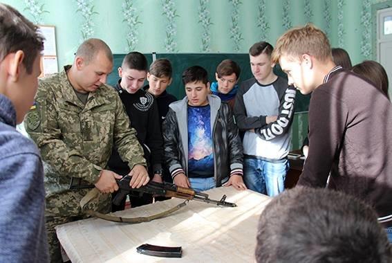 Школьников Авдеевки начали обучать офицеры ВСУ (ФОТО), фото-1