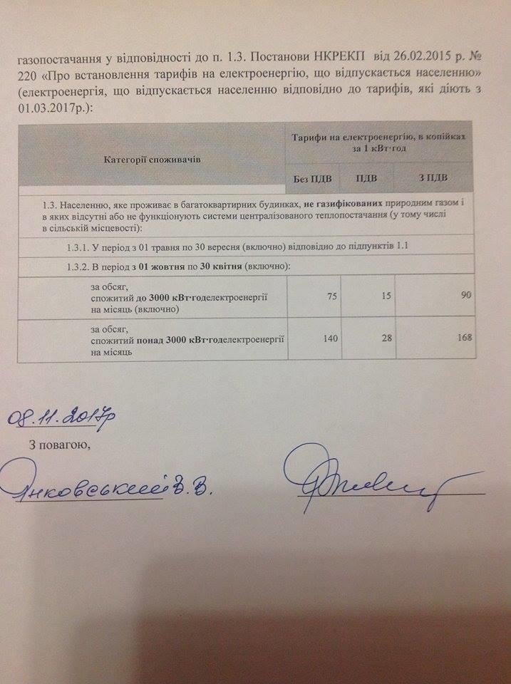 В Авдеевке требуют снижение тарифов на электроэнергию (ДОКУМЕНТ), фото-4