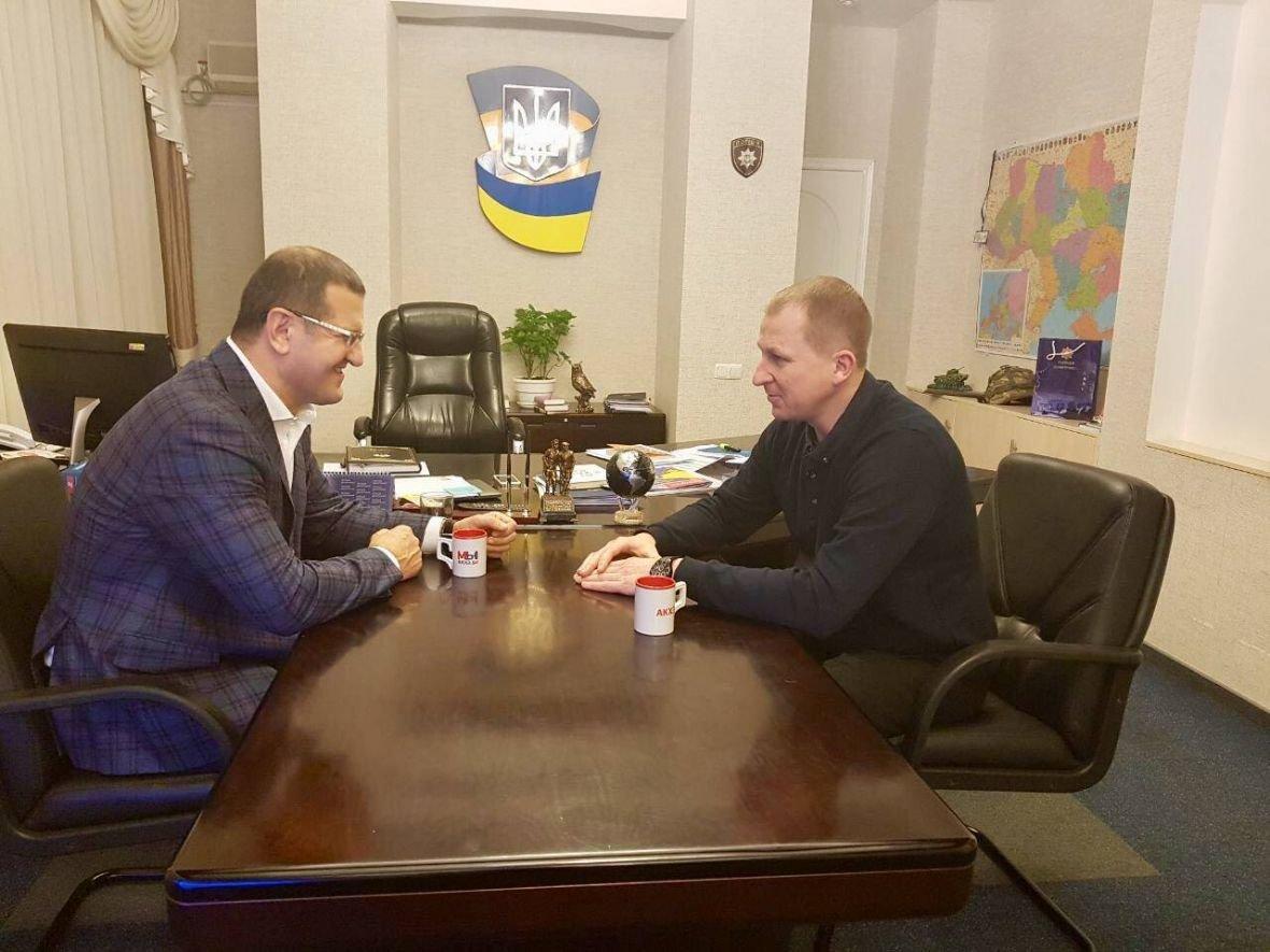 Гендиректор АКХЗ встретился с  Вячеславом Аброськиным (ФОТО), фото-2