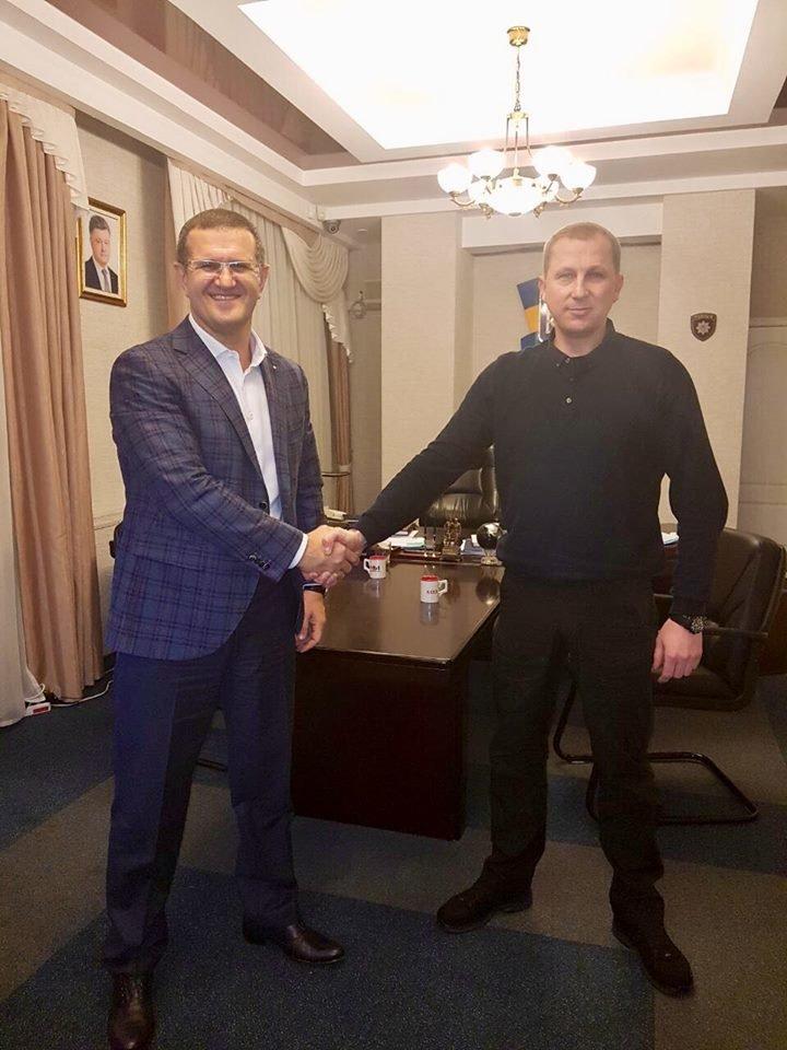 Гендиректор АКХЗ встретился с  Вячеславом Аброськиным (ФОТО), фото-1