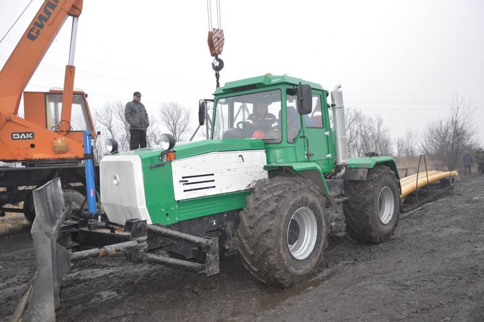АКХЗ направил технику на строительство газовой магистрали (ФОТОФАКТ), фото-3