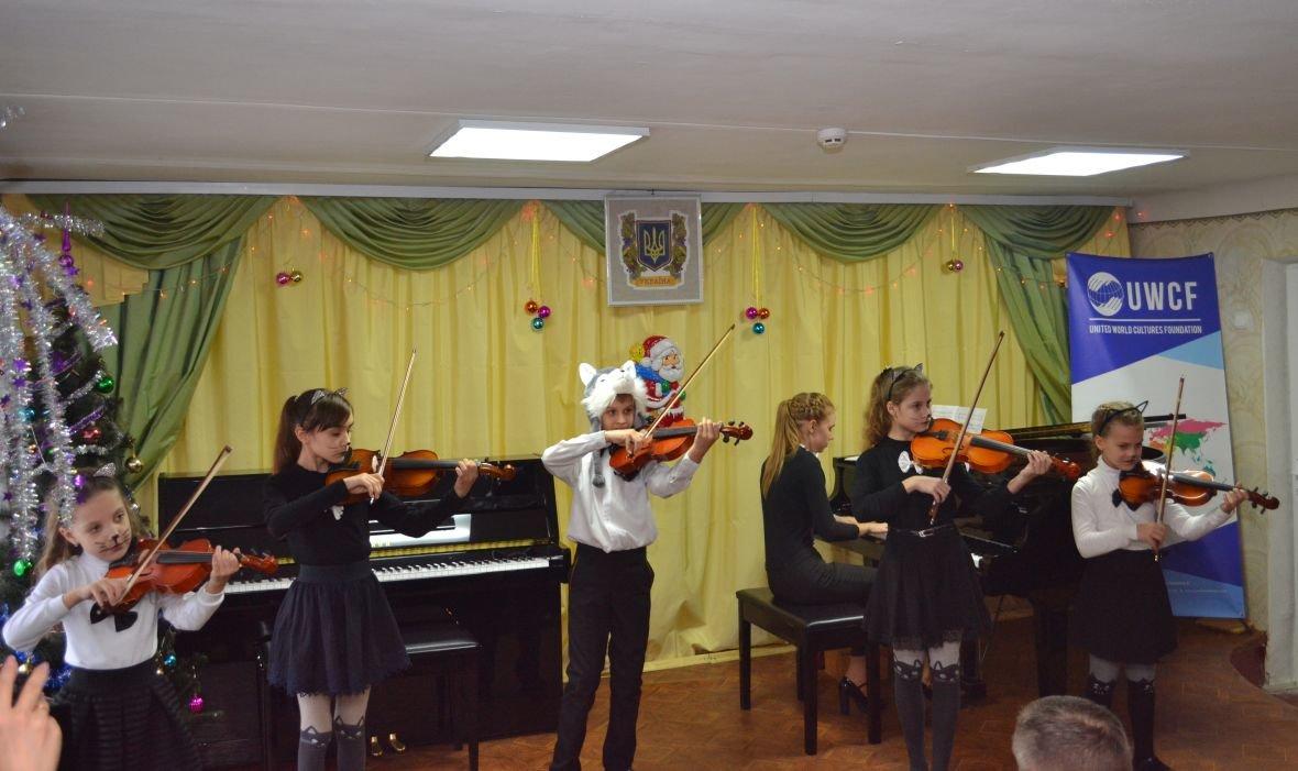 Авдеевских музыкантов собрал «Новогодний серпантин» (ФОТО), фото-1