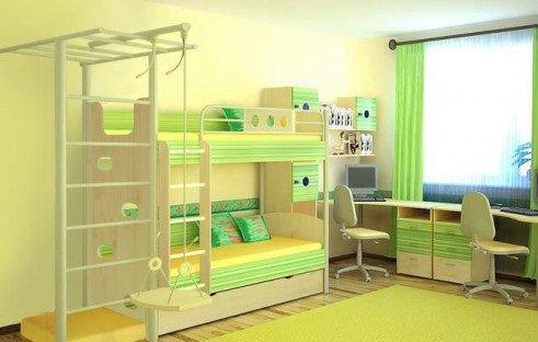 Детская-комната-для-двоих-детей