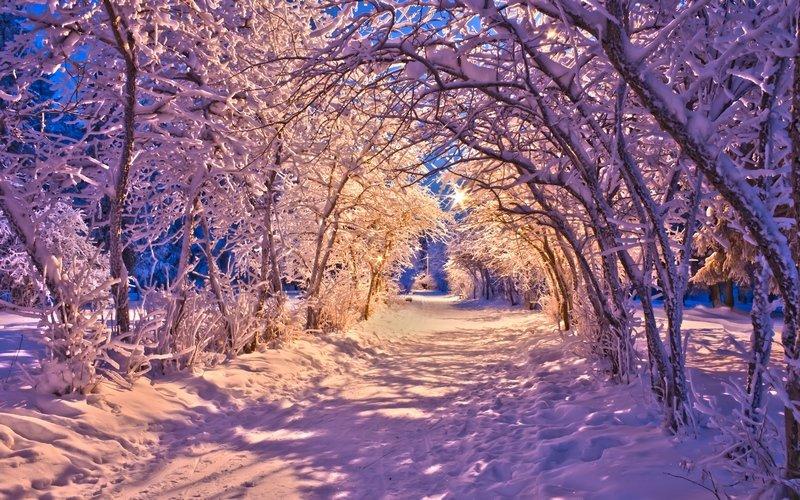 Зимний отдых в Кок-тау