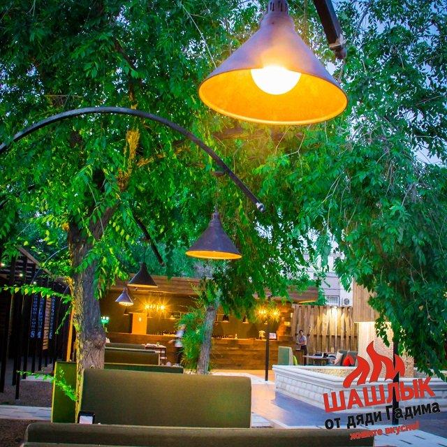 летнее кафе в актау