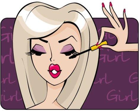 beauty_cartoon_illustrator_04_vector_181382