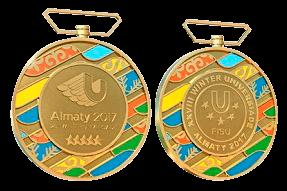Медальный зачет Универсиада 2017