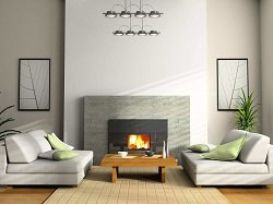 Modern-Living-Room-Modern-Fireplace-Wooden-Floor-White-Couches