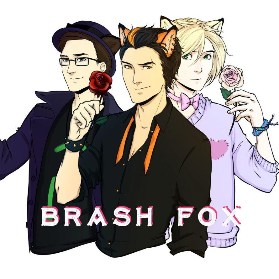 logo brash fox