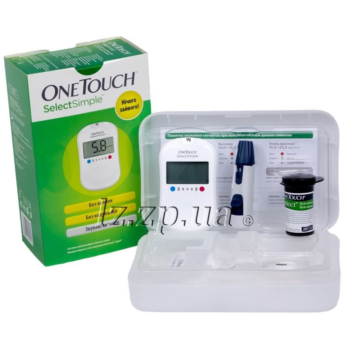 Глюкометр onetouch select siple