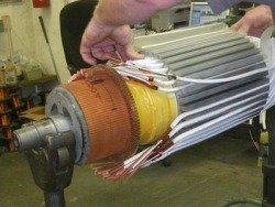 Ремонт якорных сварочных генераторов [однопостовые и многопостовые] - укладка обмотки якоря сварочного генератора