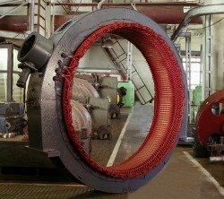 Ремонт высоковольтных электродвигателей - статор высоковольтного синхронного электродвигателя для компрессора