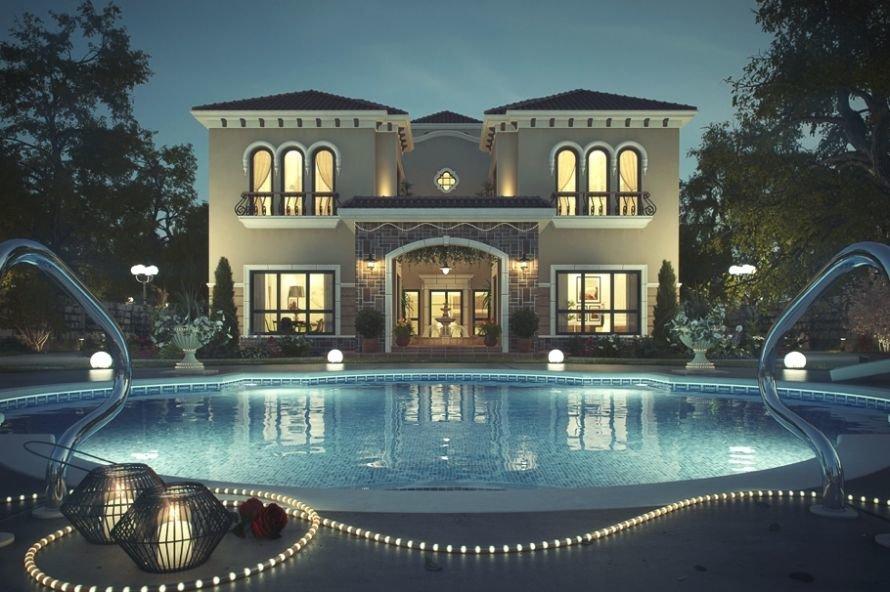 Villa-v-toskanskom-stile-v-Dubai