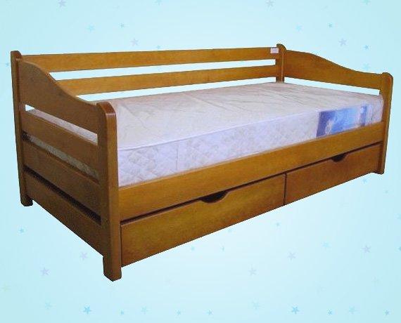 Односпольная кровать Оскар