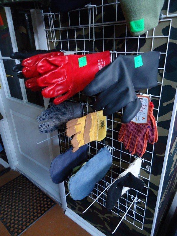 рукавиці робочі