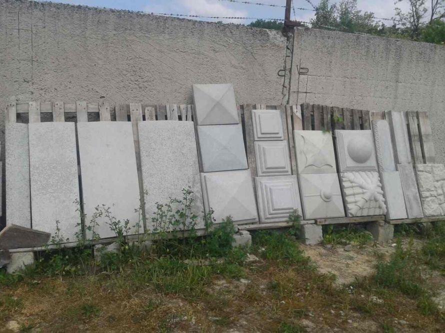 Шапки парапети бетон