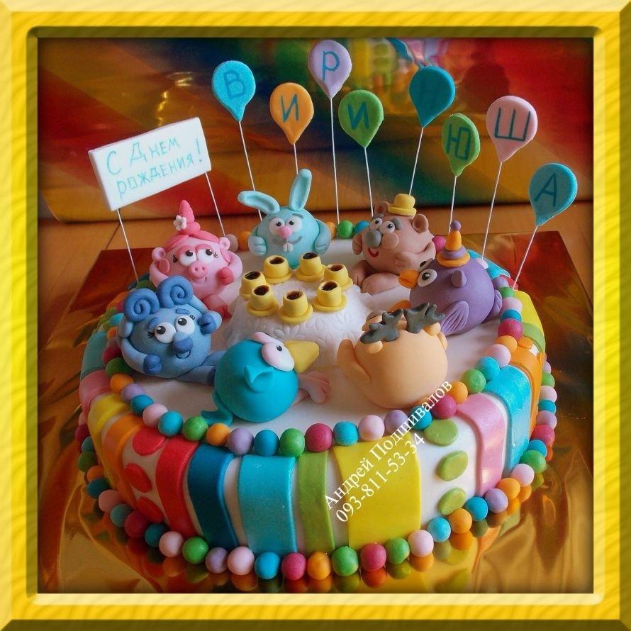 заказать торт для детского дня рождения Одесса