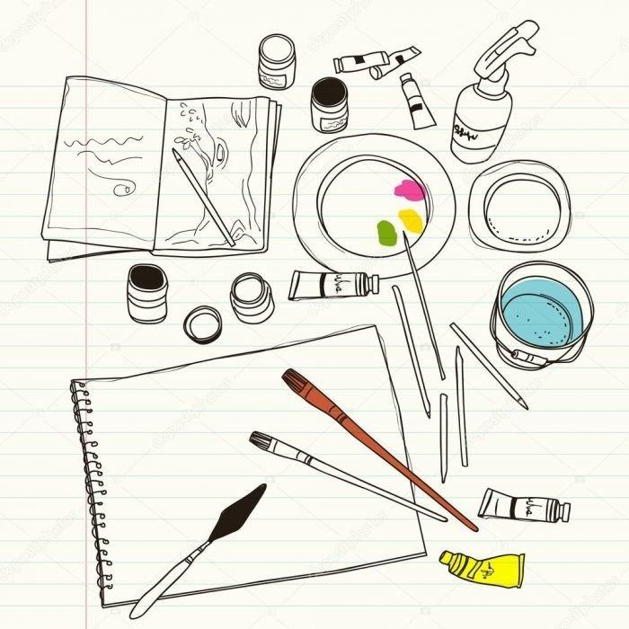 depositphotos_66872779-stock-illustration-art-supplies