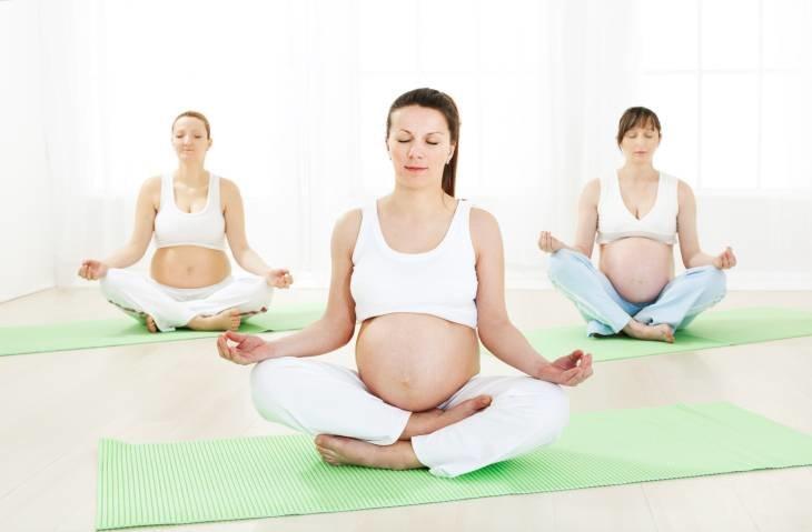 йога вагітнв