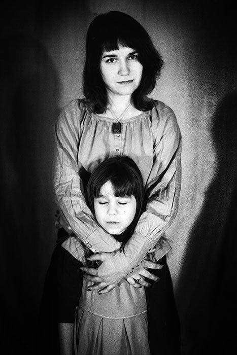 Voroncovska with daughter 8