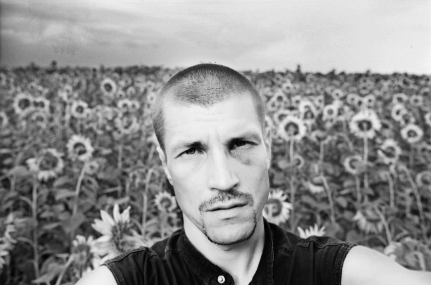 Me against the sunflower field