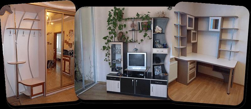 мебель корпусная под заказ (шкафы-купе, прихожие, компьютерные столы, и т.д.)