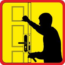 10114а замок аварійне відкривання дерев'яні двері